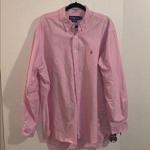 Men's Pink Ralph Lauren T-shirt